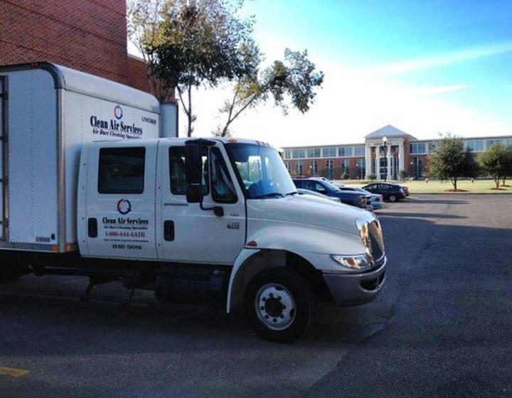 Clean Air Services company truck