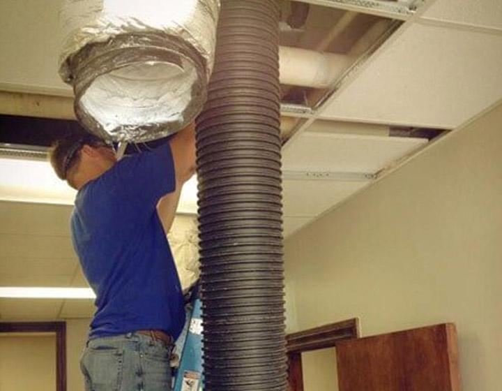 Commercial air duct cleaning for Gulfport businesses
